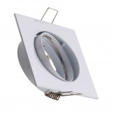 Aro Downlight Cuadrado Basculante 83mm