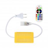 Controlador Tira LED RGB 1000W con Control Remoto RF 220V