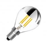 Bombilla LED E27 Ping Pong Dimable Filamento 3.5W reflect
