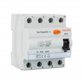 Interruptor Diferencial Industrial 4 Polos 30mA-Clase AC 10kA