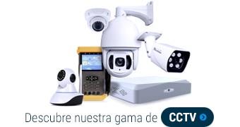 Descubre nuestra gama de CCTV